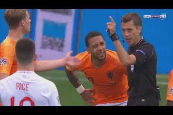 ملخص مباراة انجلترا وهولندا 1-3