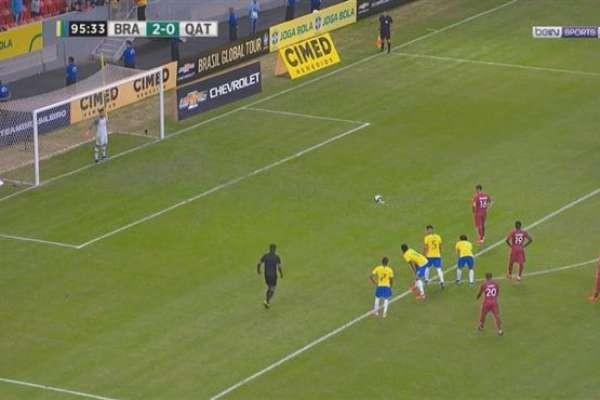 ملخص مباراة البرازيل وقطر 2-0 اليوم 6_6_2019